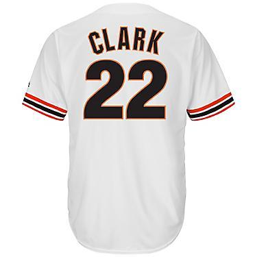 buy online dfec8 c63c0 Majestic Men's San Francisco Giants Will Clark #22 Cooperstown Cool Base  1982 Replica Jersey