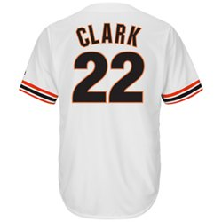 Majestic Men's San Francisco Giants Will Clark #22 Cooperstown Cool Base 1982 Replica Jersey