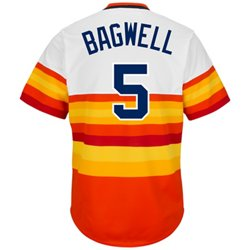 Men's Houston Astros Jeff Bagwell #5 Cooperstown Replica Jersey