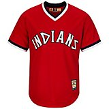 f4cb5d7cb Majestic Men's Cleveland Indians Cooperstown Cool Base 1975-76 Replica  Jersey