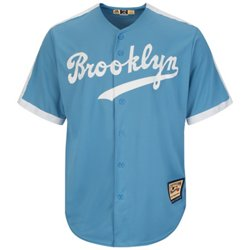 Majestic Men's Brooklyn Dodgers Cooperstown Cool Base 1941-57 Replica Jersey