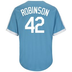 Majestic Men's Brooklyn Dodgers Jackie Robinson #42 Cooperstown Cool Base® 1941-57 Replica Jersey