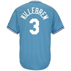 Men's Kansas City Royals Harmon Killebrew #3 Cooperstown Cool Base Replica Jersey