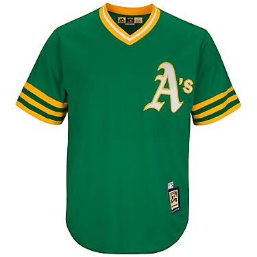 pretty nice 75220 7fa66 Majestic Men's Oakland Athletics Reggie Jackson #9 Cooperstown Cool Base  1987 Replica Jersey