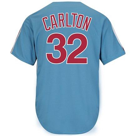 5694b80f07e1 Majestic Men s Philadelphia Phillies Steve Carlton  32 Cooperstown ...