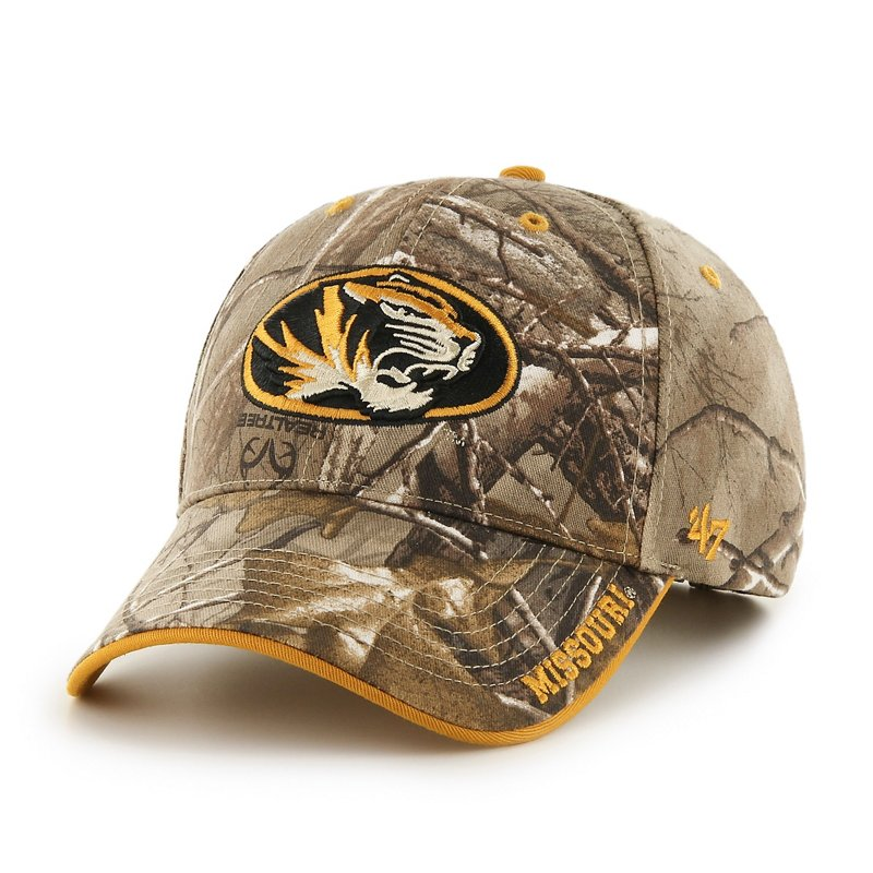 '47 Realtree Frost Cap (Black 04, Size One Size) – NCAA Licensed Product, NCAA Men's Caps at Academy Sports