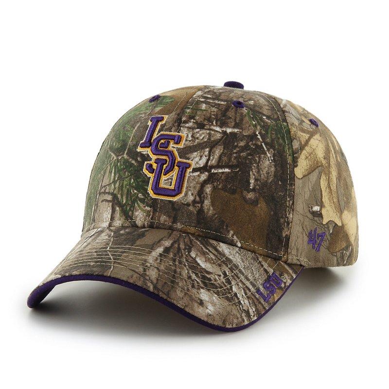 '47 Men's Louisiana State University Realtree Frost Cap Dark Green - NCAA Men's Caps at Academy Sports thumbnail