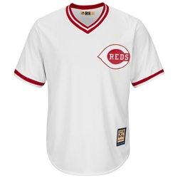 Majestic Men's Cincinnati Reds Cooperstown Cool Base 1978 Replica Jersey