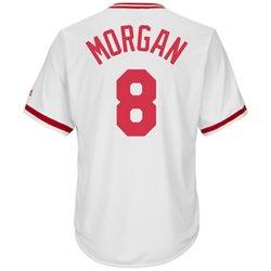 Majestic Men's Cincinnati Reds Joe Morgan #8 Cooperstown Cool Base 1978 Replica Jersey