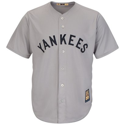 Majestic Men s New York Yankees Cooperstown Cool Base 1927 Replica ... 27d4875565a7