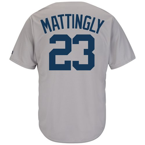 Majestic Men's New York Yankees Don Mattingly #23 Cooperstown Cool Base 1927 Replica Jersey