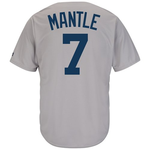 Majestic Men's New York Yankees Mickey Mantle #7 Cooperstown Cool Base 1927 Replica Jersey