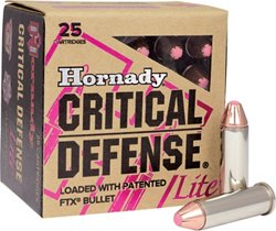 Hornady FTX® Critical Defense® LITE .38 Special 90-Grain Handgun Ammunition