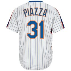Majestic Men's New York Mets Mike Piazza #31 Cooperstown Cool Base 1986 Replica Jersey