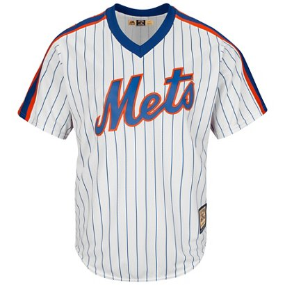 0caf5653f Majestic Men s New York Mets Mike Piazza  31 Cooperstown Cool Base 1986  Replica Jersey
