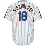 69f8d1895 Men s New York Mets Darryl Strawberry  18 Cooperstown Cool Base 1986  Replica Jersey