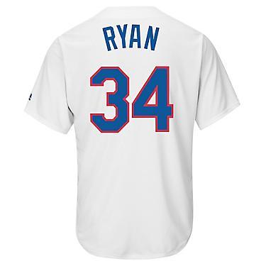 brand new 17f9d a2072 Majestic Men's Texas Rangers Nolan Ryan #34 Cooperstown Replica Jersey