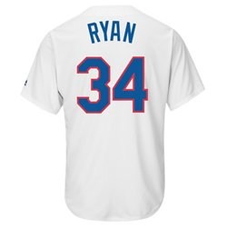 Majestic Men's Texas Rangers Nolan Ryan #34 Cooperstown Replica Jersey