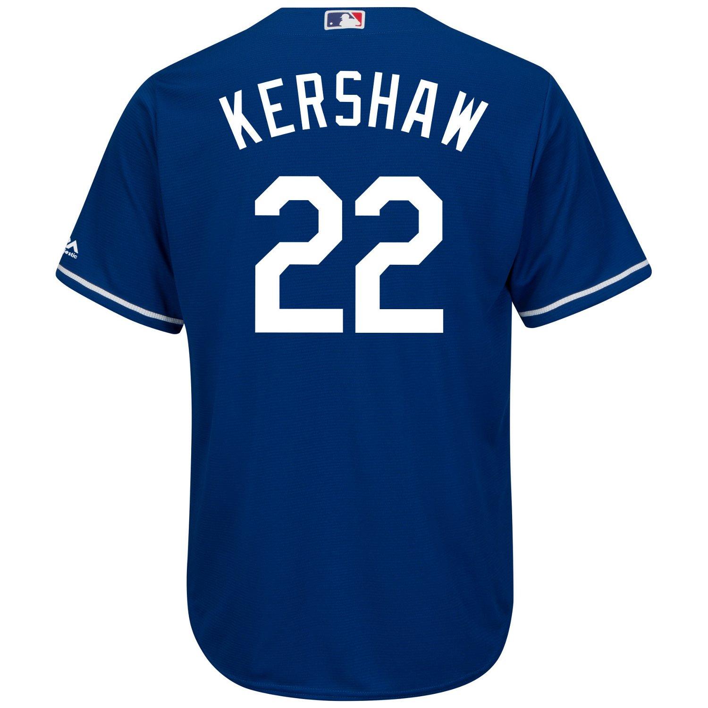 2b5cff76d0b Majestic Men s Los Angeles Dodgers Clayton Kershaw  22 Cool Base® Jersey