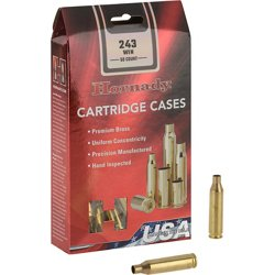 .243 Winchester Unprimed Cases