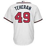 bd659e37a Men s Atlanta Braves Julio Teheran  49 Cool Base Replica Jersey