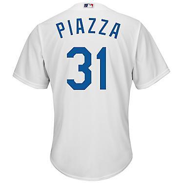 huge discount 44f39 8d1ee Majestic Men's Los Angeles Dodgers Mike Piazza #31 Cool Base Replica Jersey