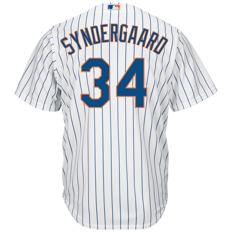 on sale ffc2b 5bd4e Majestic Men's New York Mets Noah Syndergaard #34 Cool Base Replica Jersey