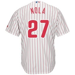 Majestic Men's Philadelphia Phillies Aaron Nola #27 Cool Base Replica Jersey