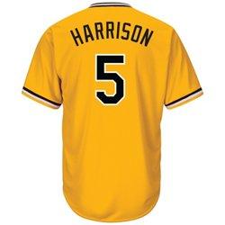 Majestic Men's Pittsburgh Pirates Josh Harrison #5 Cool Base Replica Jersey