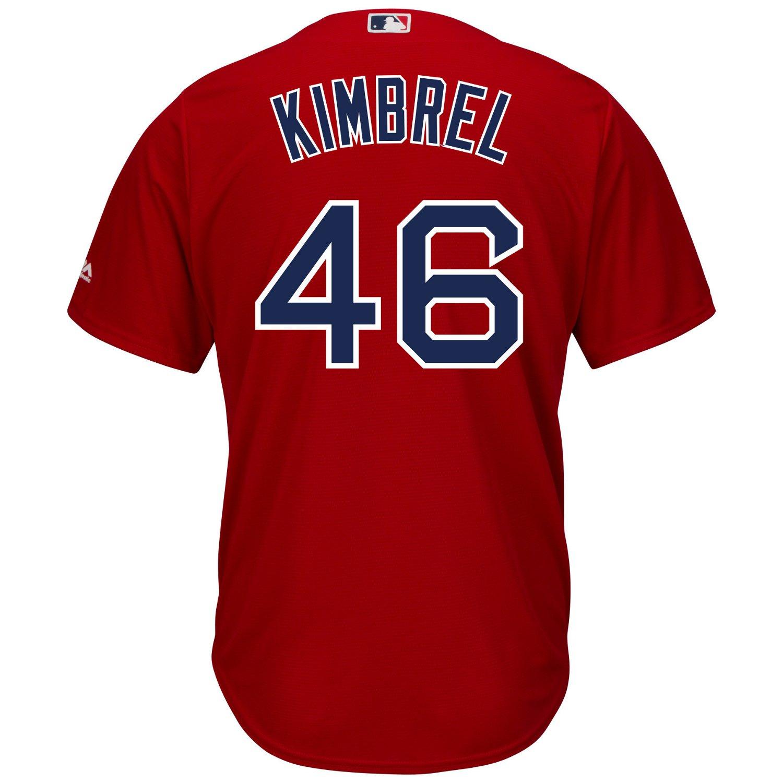 43526e636 Majestic Men s Boston Red Sox Craig Kimbrel  46 Cool Base Replica Jersey