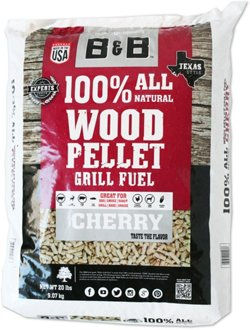 B&B Cherry Pellet Grill Fuel