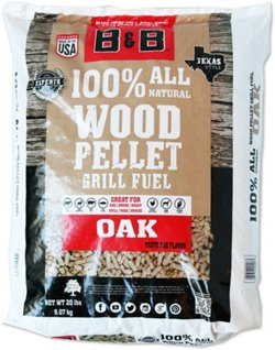 B&B Oak Pellet Grill Fuel