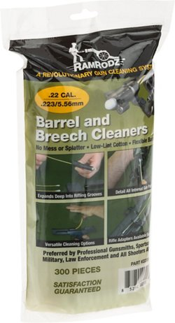RamRodz .22/.223/5.56mm Barrel and Breech Cleaners 300-Pack