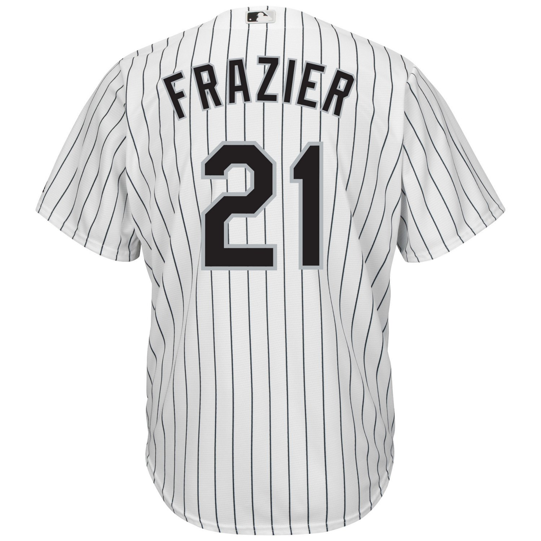 factory price 5802b f63db Majestic Men's Chicago White Sox Todd Frazier #21 Cool Base Replica Jersey