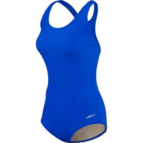 Dolfin Women's Conservative Back 1-Piece Swimsuit