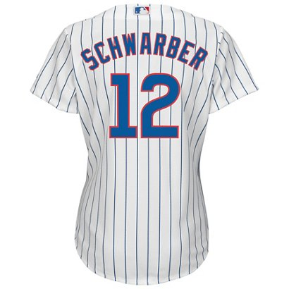 19cad6315 ... Majestic Women s Chicago Cubs Kyle Schwarber  12 Replica Jersey. Chicago  Cubs. Hover Click to enlarge