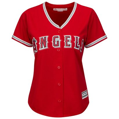 7c2c7d6a4 Majestic Women s Los Angeles Angels of Anaheim Cool Base® Replica ...