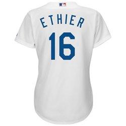 Majestic Women's Los Angeles Dodgers André Ethier #16 Cool Base® Replica Home Jersey