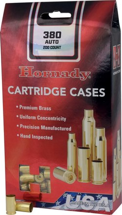 Hornady .380 Auto Unprimed Cases