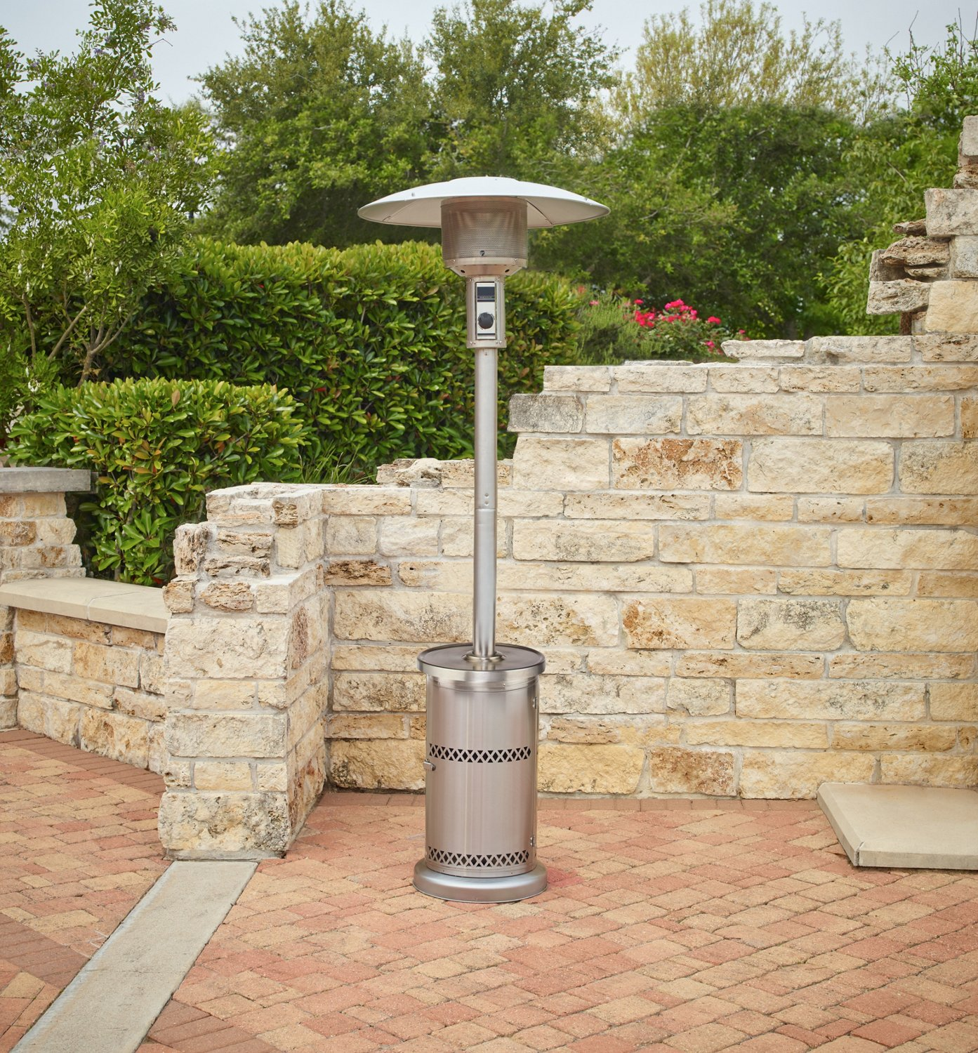 Patio Heater Pyramid Curve Patio Heater Affordable Outdoor Kitchens