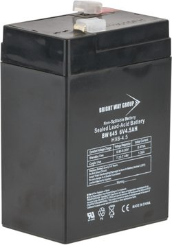 American Hunter DE645DC 6V 4.5-Amp HR Rechargeable Battery