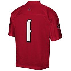 adidas Men's University of Louisiana at Lafayette No. 1 Chase Football Away Jersey