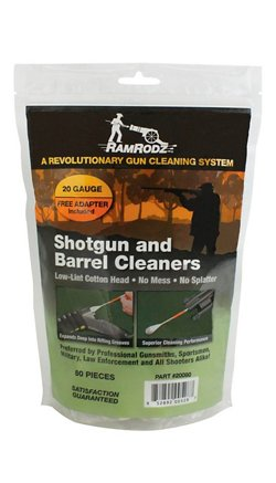 RamRodz 20 Gauge Barrel and Breech Cleaners 80-Pack