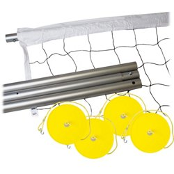 Expert Outdoor Volleyball Post and Net System