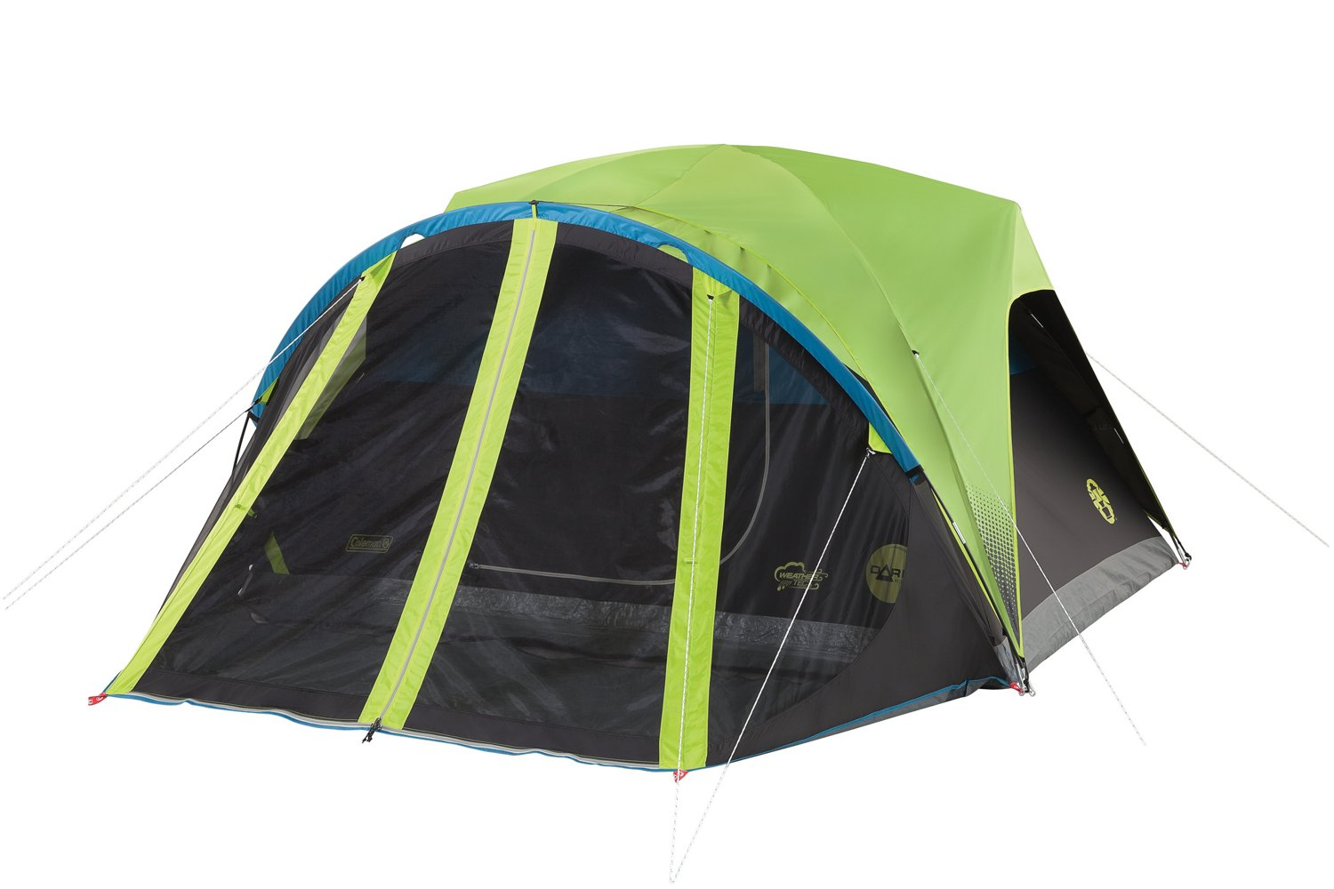 3 Bedroom Tent With Porch & 6 Person Screened 3 Room Tent