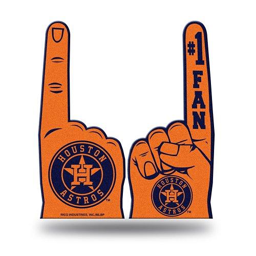Rico Houston Astros #1 Fan Foam Finger