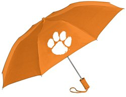 Storm Duds Adults' Clemson University Automatic Folding Umbrella