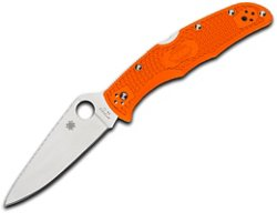 Spyderco Endura 4 PlainEdge Folding Knife