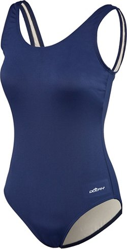 Dolfin Women's Moderate Scoop Back 1-Piece Swimsuit