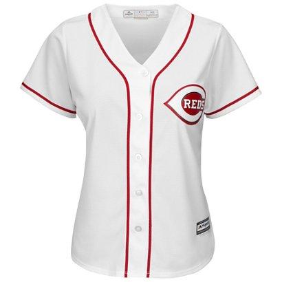 Majestic Women s Cincinnati Reds Cool Base® Replica Home Jersey ... 69daeadea